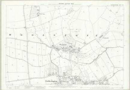 Gloucestershire XIX.4 (includes: Gotherington; Oxenton) - 25 Inch Map