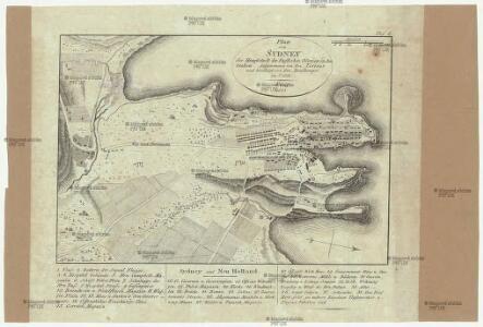 Plan von Sydney