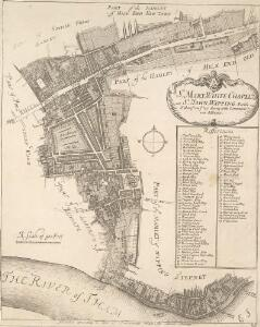 St. MARY, WHITE CHAPEL and St. JOHN; WAPPING Parish taken from y.e last Survey with Corrections and Additions