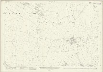 Derbyshire XVI.6 (includes: Eyam; Foolow; Great Hucklow; Grindlow; Litton) - 25 Inch Map