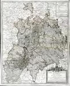 Carte chorographique de la généralité d'Auvergne
