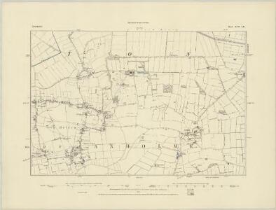 Lincolnshire XVI.SE & XVII.SW - OS Six-Inch Map