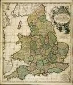 A new mapp of the kingdome of England
