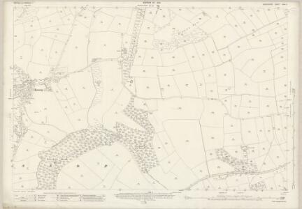 Derbyshire XXIII.4 (includes: Baslow and Bubnell; Edensor; Hassop; Pilsley) - 25 Inch Map
