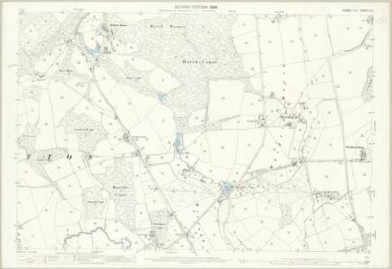 Sussex X.14 (includes: Chithurst; Iping; Trotton) - 25 Inch Map