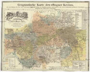 Geognostische Karte des elbogner Kreises