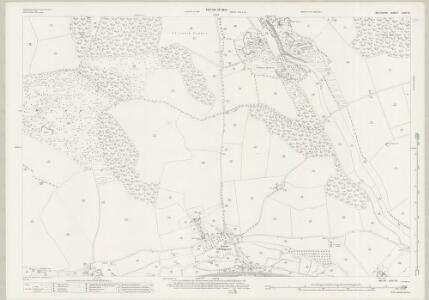 Wiltshire LXIV.12 (includes: Chilmark; Teffont; Tisbury) - 25 Inch Map