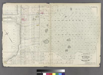 Plate 17: Part of Ward 8 City of Brooklyn.