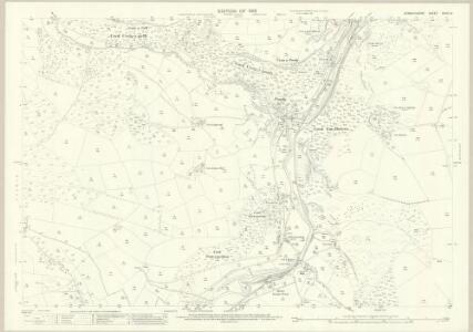 Denbighshire XXXIX.14 (includes: Glyntraean; Llangadwaladr; Llansanffraid Glynceiriog; Llansilin) - 25 Inch Map