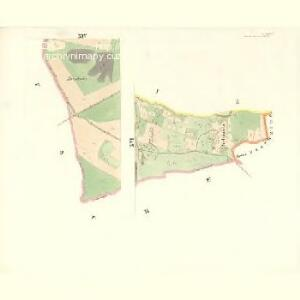 Rožnau (Rožnow) - m2628-1-013 - Kaiserpflichtexemplar der Landkarten des stabilen Katasters