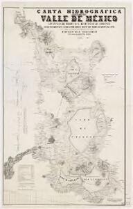 Carta hidrográfica del Valle de México