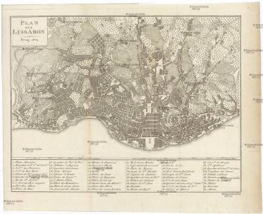 Plan von Lissabon [sic]