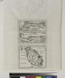 Coast of Barbary from Tanger to Cape Bon ; Coast of Barbary from Cape Bon to Damieta ; Malta.