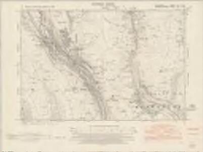 Glamorgan XIII.SW - OS Six-Inch Map