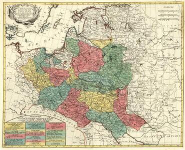 Carte Nouvelle du Royaume de Pologne