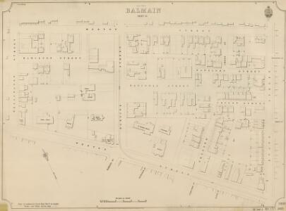 Balmain, Sheet 55, 2nd ed. 1896