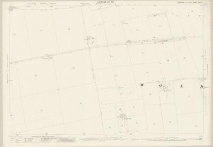 Yorkshire CXXVI.4 (includes: Foxholes; Wold Newton) - 25 Inch Map