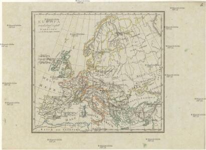 Europa nach dem Einfall der Barbaren gegen das Ende des fünften Jahrhunderts