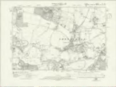 Surrey XI.NE - OS Six-Inch Map