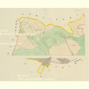 Mallonitz (Malonice) - c4436-1-001 - Kaiserpflichtexemplar der Landkarten des stabilen Katasters