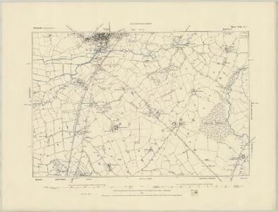 Shropshire XXI.NW - OS Six-Inch Map