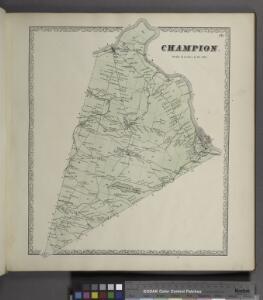 Champion. [Township]