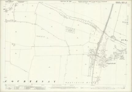 Berkshire X.15 (includes: Appleford; Clifton Hampden; Culham; Sutton Courtenay) - 25 Inch Map