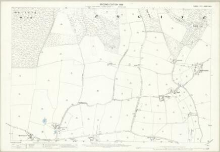 Sussex XX.8 (includes: Rogate) - 25 Inch Map