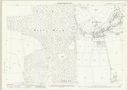 Lincolnshire XIX.10 (includes: Broughton; Holme) - 25 Inch Map