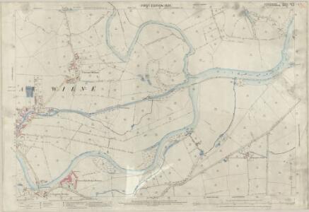 Derbyshire LVI.9 (includes: Breaston; Castle Donington; Draycott and Church Wilne; Lockington Hemington; Shardlow and Great Wilne) - 25 Inch Map
