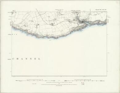 Cornwall LII.SW - OS Six-Inch Map