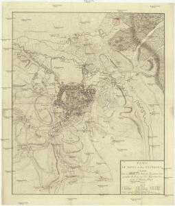 Plan de Mons et des environs