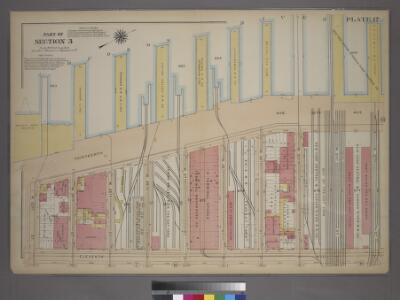 Plate 17, Part of Section 3: [Bounded by (Hudson River Docks) Thirteenth Avenue, W. 32nd Street, Eleventh Avenue and W. 23rd Street.]