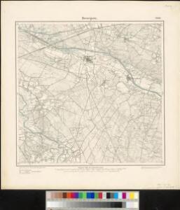 Meßtischblatt 2008 : Bevergern, 1897