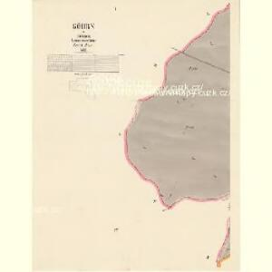 Göhrn - c3169-1-001 - Kaiserpflichtexemplar der Landkarten des stabilen Katasters