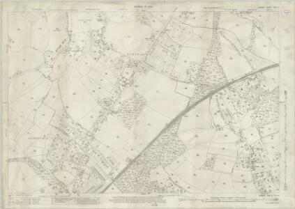 Surrey XXIV.9 (includes: Guildford) - 25 Inch Map