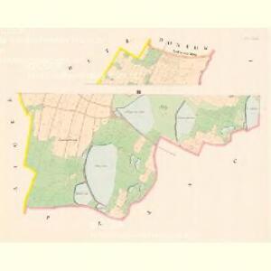 Zahorž - c9060-1-001 - Kaiserpflichtexemplar der Landkarten des stabilen Katasters