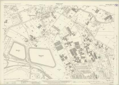 Middlesex XXV.2 (includes: Hanworth; Sunbury; Twickenham St Mary The Virgin) - 25 Inch Map