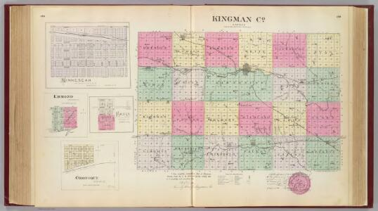 Kingman Co., Ninnescah, Edmond, Bross & Oronoque, Kansas.