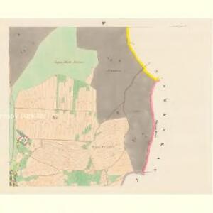 Skaschow (Skassowa Lhotta) - c6928-1-003 - Kaiserpflichtexemplar der Landkarten des stabilen Katasters