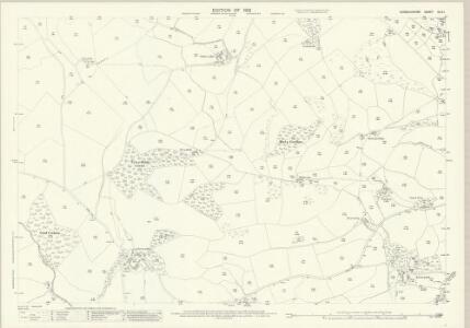 Denbighshire XLIV.1 (includes: Llanrhaeadr Ym Mochnant; Llansilin) - 25 Inch Map