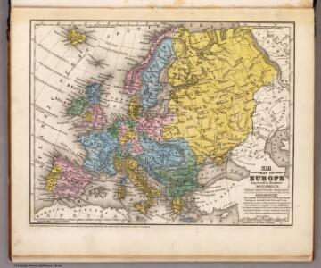 Map of Europe.