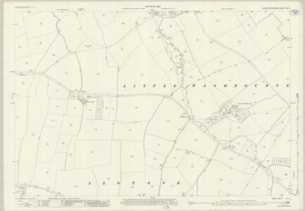 Gloucestershire XIII.9 (includes: Alderton; Beckford; Dumbleton; Teddington) - 25 Inch Map