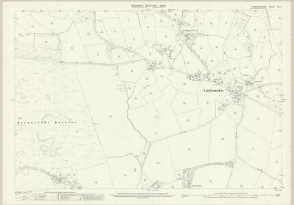 Pembrokeshire XLII.2 (includes: Castlemartin) - 25 Inch Map