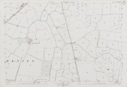 Somerset LXXXII.4 (includes: Chilthorne Domer; Ilchester; Limington; Sock Dennis) - 25 Inch Map