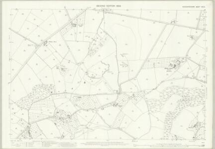 Gloucestershire XVIII.6 (includes: Corse; Hasfield; Tirley) - 25 Inch Map