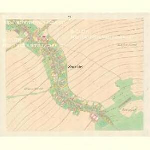 Zauchtel (Sugdol) - m2950-1-005 - Kaiserpflichtexemplar der Landkarten des stabilen Katasters
