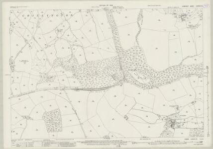 Somerset LXXXVIII.15 (includes: Chillington; Dinnington; Hinton St George; West Crewkerne; Winsham) - 25 Inch Map