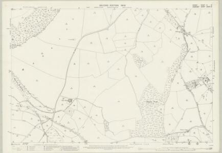 Dorset VI.15 (includes: Goathill; Haydon; Milborne Port; Purse Caundle; Stalbridge; Stourton Caundle) - 25 Inch Map