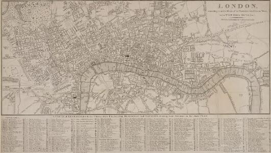 LONDON Extending from the HEAD of the PADDINGTON CANAL West to the WEST INDIA DOCKS EAST